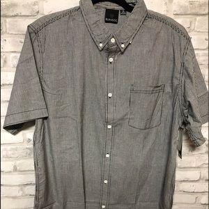 Men button down dress shirt